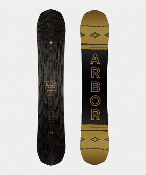 Arbor Snowboards Element Black Camber