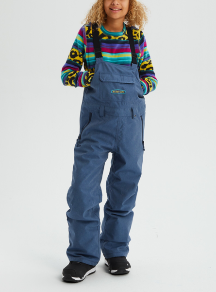 Burton Snowboards Skylar Bib Pant Color: Light Denim