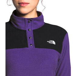 The North Face Women's TKA Glacier Snap-Neck Pull-Over