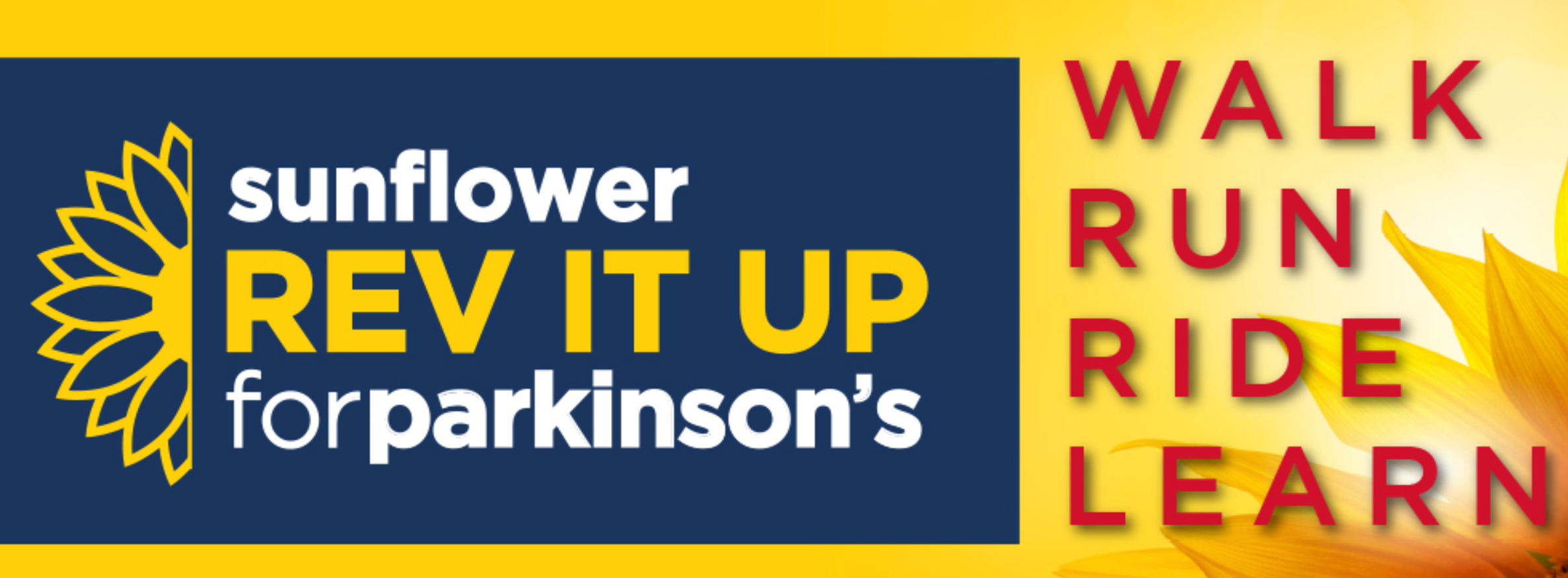 Sunflower Rev It Up Revolution 2019 Parkinson's Research