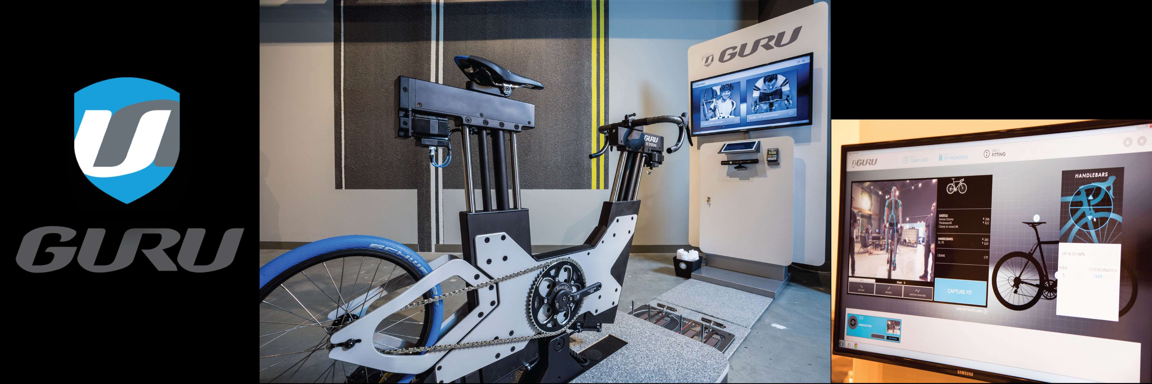 GURU Revolutionary Bike Fit | Virtual Motion Capture Analysis