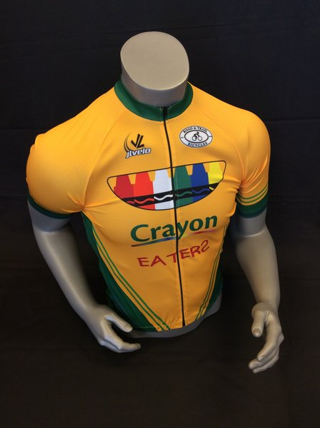 Road & Trail Bicycles Jersey - Men's Crayon Eaters