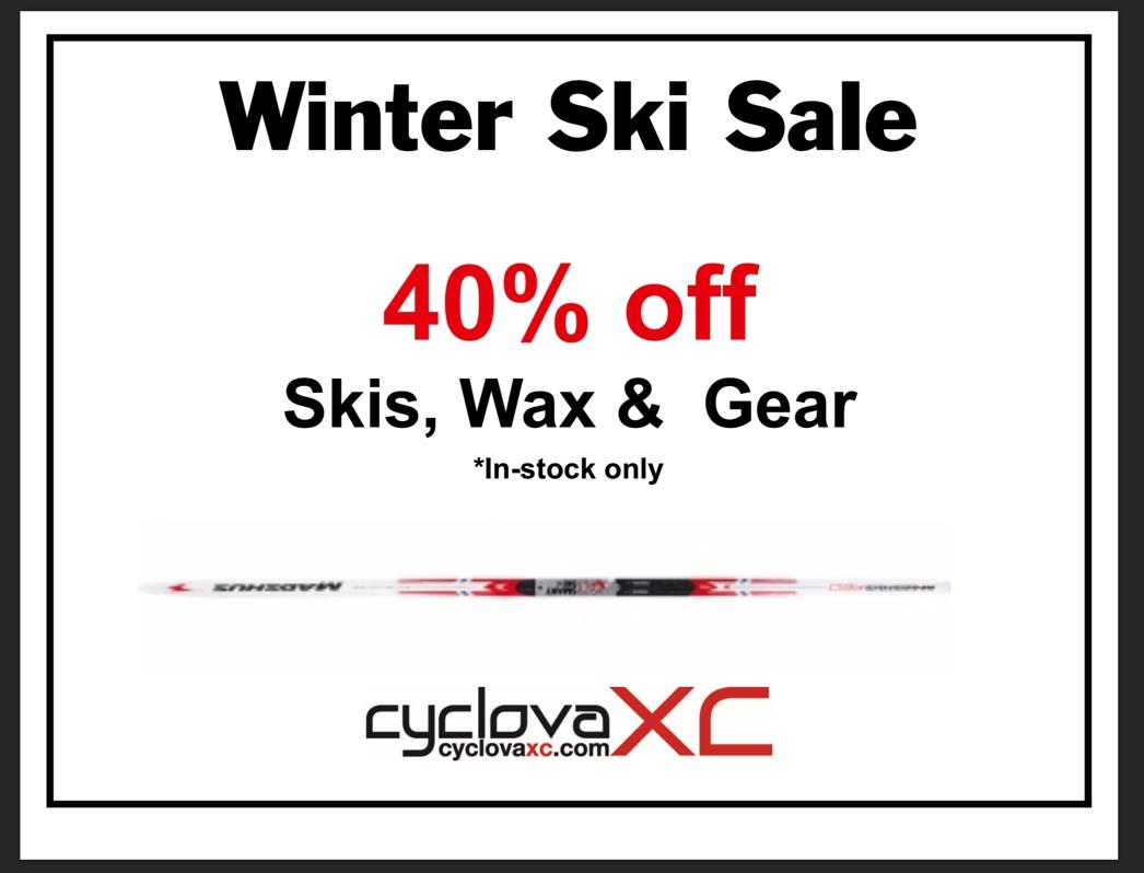 Cyclova Winter Ski Sale