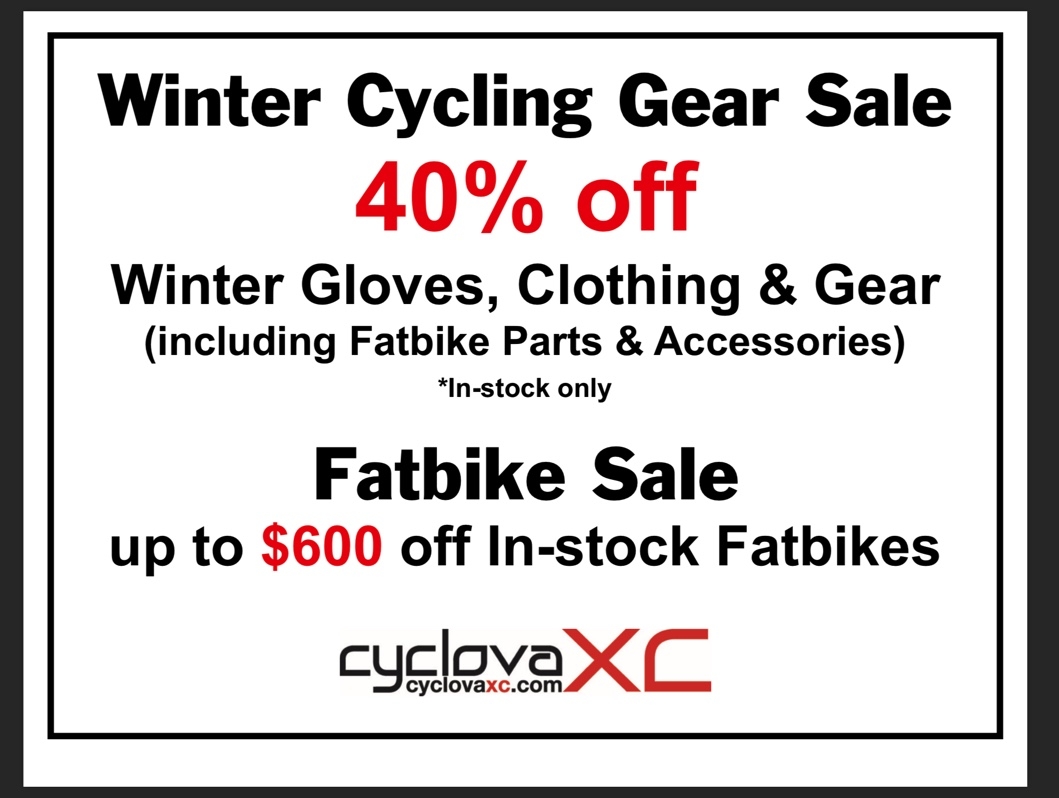 Winter Cycling Sale