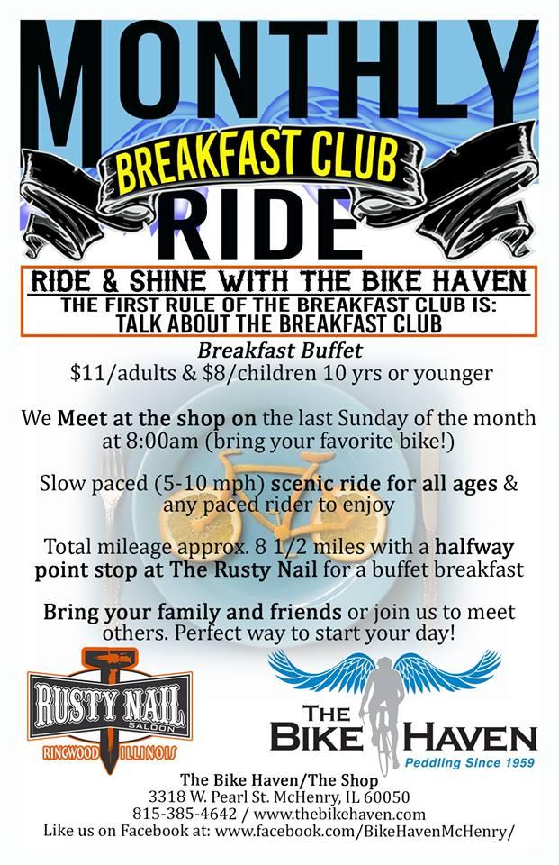 Breakfast Club ride details