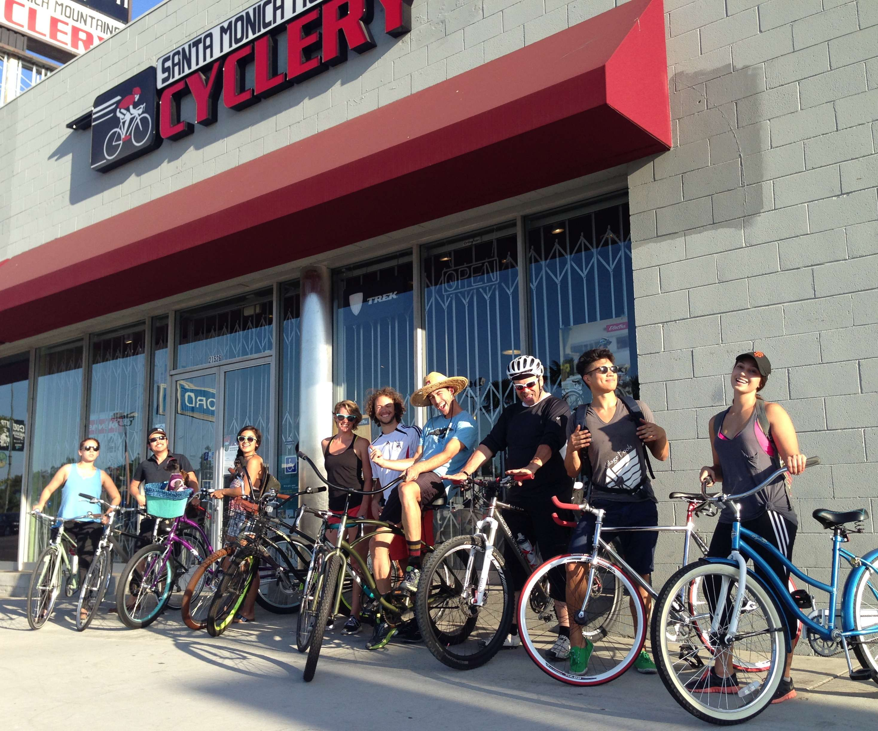 Group ride at our store