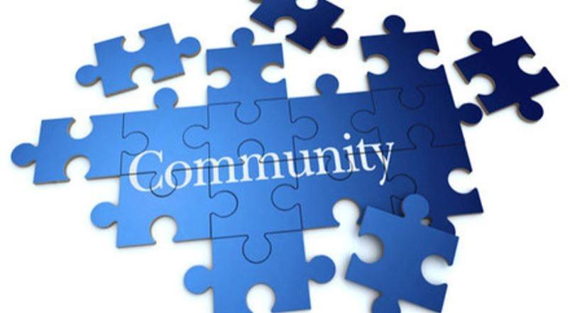 Part of a community