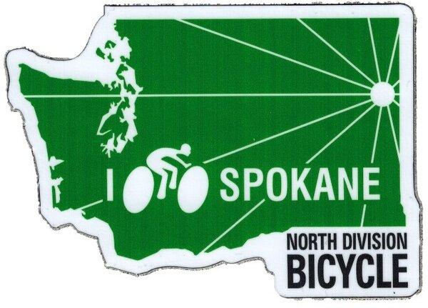 North Division Bicycle North Division Bicycle Stickers NDB