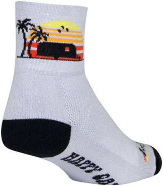 SockGuy SockGuy Classic Happy Camper Socks - 3 inch
