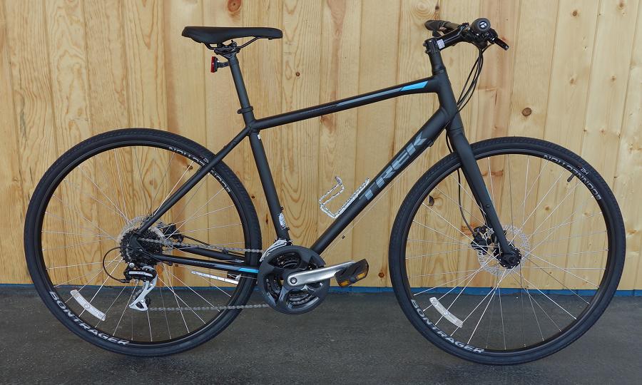 Trek FX2 Disc rental bike