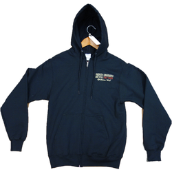 North Division Bicycle NDB HOODIE I DO WHAT I WANT ZIPPER CAT BLACK