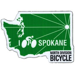 North Division Bicycle North Division Bicycle Stickers NDB
