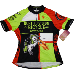 North Division Bicycle JERSEY NDB WOMEN CLASSIC CLUB CUT UNICORN