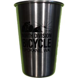 North Division Bicycle NDB Pint EcoVessel Stainless Steel