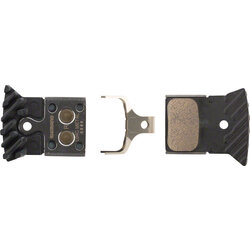 Shimano Shimano L04C Metal Disc Brake Pads with Fin for Flat Mount BR-RS805, BR- RS505 Road Disc Calipers