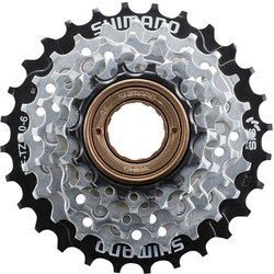 SunRace Shimano MF-TZ510-6-CP Multi-Speed Freewheel - 6-Speed, 14-28t