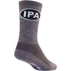 SockGuy SockGuy Wool IPA Socks - 6 inch, Gray