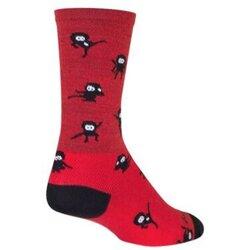 SockGuy NINJA SOCKS WOOL 6