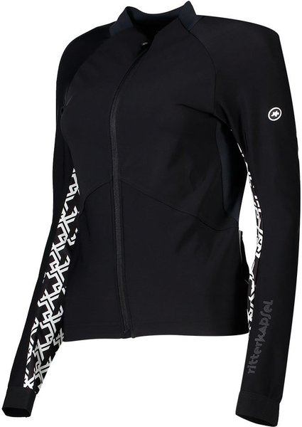 Assos Mille GT Jacket Spring Fall Color: Black Series