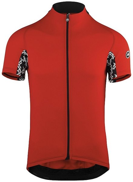 Assos Short Sleeve UMA GT Solid Color: National Red