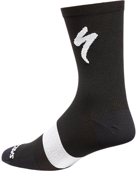 Specialized Road Tall Socks Color: Black