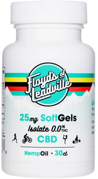 Floyd's of Leadville CBD Isolate Softgels