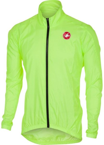 Castelli Squadra ER Jacket Color: Yellow Fluo
