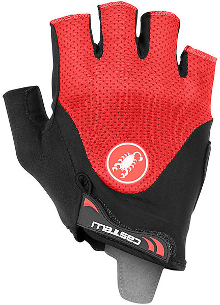 Castelli ARENBERG GEL 2 GLOVE Color: Black/Red