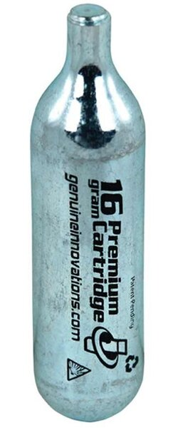 Genuine Innovations 16 Gram Threadless CO2 Cartridge
