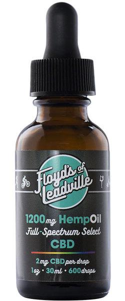 Floyd's of Leadville CBD Tincture, Full Spectrum 1200 MG