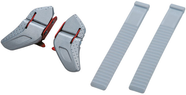 Shimano Low Profile Buckle & Strap Set- White
