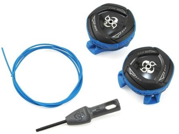 Shimano BOA IP1 REPAIR KIT 2 DIALS BLUE LEFT