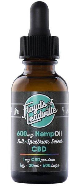 Floyd's of Leadville CBD Tincture, Full Spectrum
