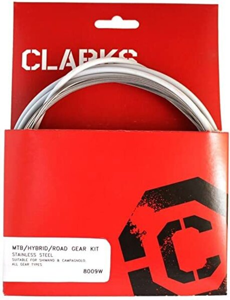 Clark's Stainless Sport Shift Cable Set