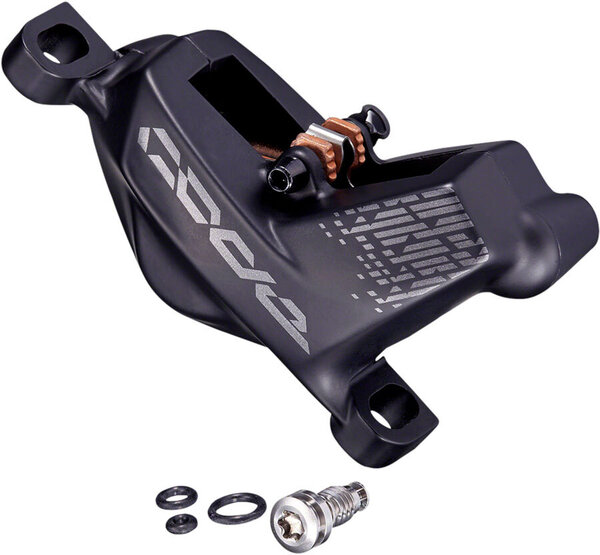 SRAM Replacement CODE RRSC Caliper Assembly, fits GUIDE, Post Mount Non-CPS Front / Rear, Diffusion Black