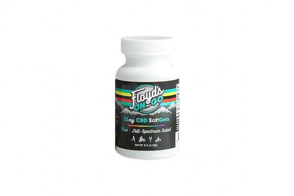 Floyd's of Leadville CBD Softgels, Full Spectrum, 30 Capsules (25MG)