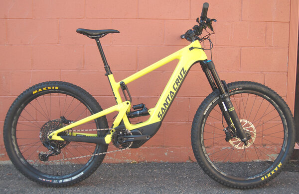 Santa Cruz Heckler CC S Demo Sale