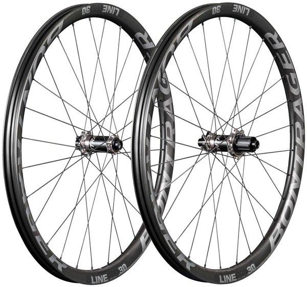 """Bontrager Line Pro 30 Boost 6-Bolt HG 29"""" Demo Sale Wheels"""