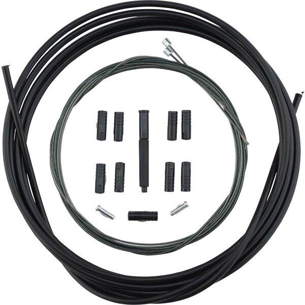 Shimano MTB 2x Shift Cable Set, Optislick, Black