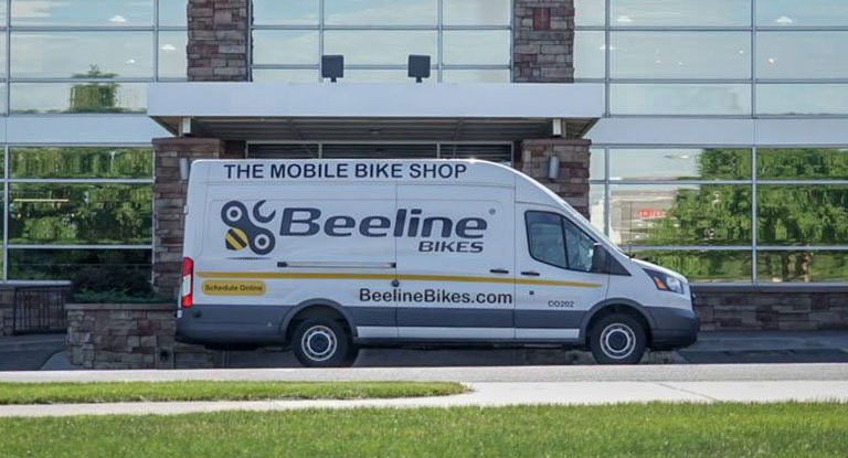 Mobile Bike Service Van