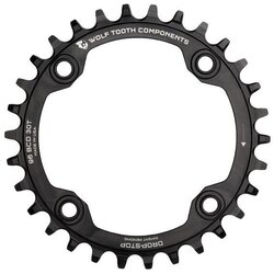 Wolf Tooth Components Drop Stop Chainring 96BCD for Shimano Symmetric Crank