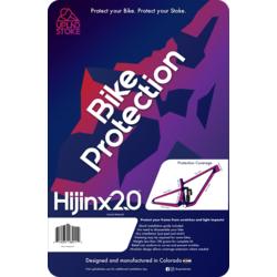 UPLND STOKE HIJINX 2.0 FRAME PROTECTOR TRANSPARENT