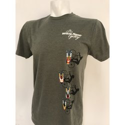 Wheat Ridge Cyclery WRC TEE - PACE LINE