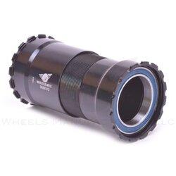 Wheels Manufacturing Inc. 386EVO ABEC-3 BB for 30mm Cranks - Black