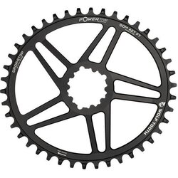 Wolf Tooth Components PowerTrac Elliptical Direct Mount Drop Stop Chainring for SRAM Crank 6mm Offset