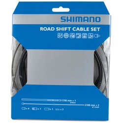 Shimano SP41 Polymer-Coated Road Derailleur Cable Set