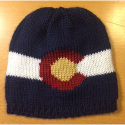 STEPHANIE KENT KNITTING COLORADO KNIT HAT