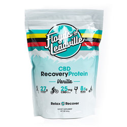 Floyd's of Leadville CBD Isolate Recovery Protein Powder 10 Servings