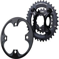 SRAM X9 GXP Spider & 10-Speed Chainrings 24/38/Bash
