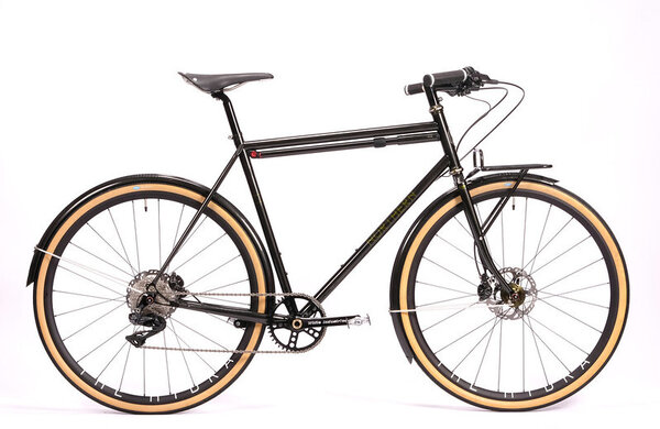 Northern Frameworks Northern Frameworks Di2 Commuter Bike - Chris King 40th Anniversary Olive - Large
